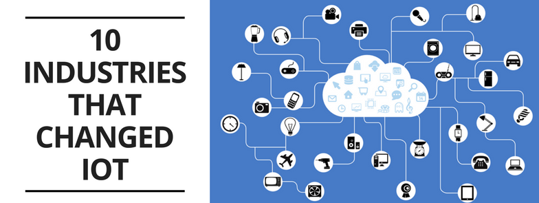BLOG 10 industries that changed iot