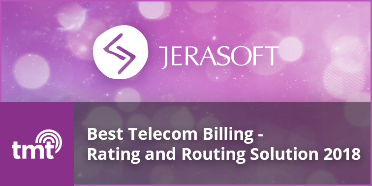 TMT Telecoms Awards 2018 winners Jerasoft